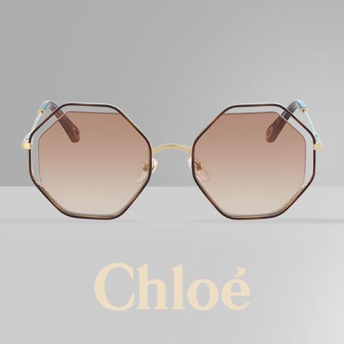 6af3a004ce3298 Straal vintage uit met de zonnebril Poppy van Chloé