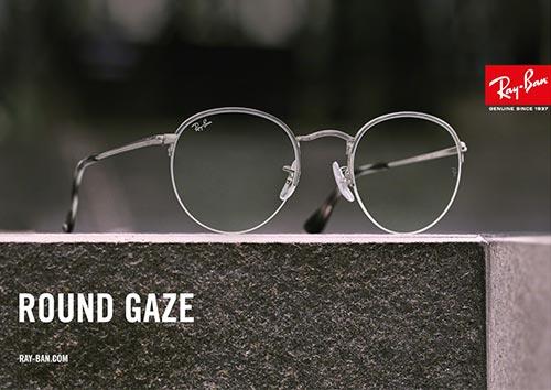 5bda2d29f58501 Ray-Ban Round Gaze bril  een nieuwkomer in de familie
